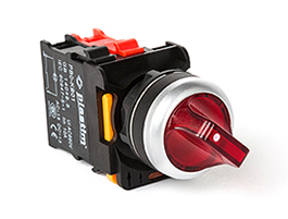 PB0 Series Led IIluminated Selector Button 24V (1NO-1NC)
